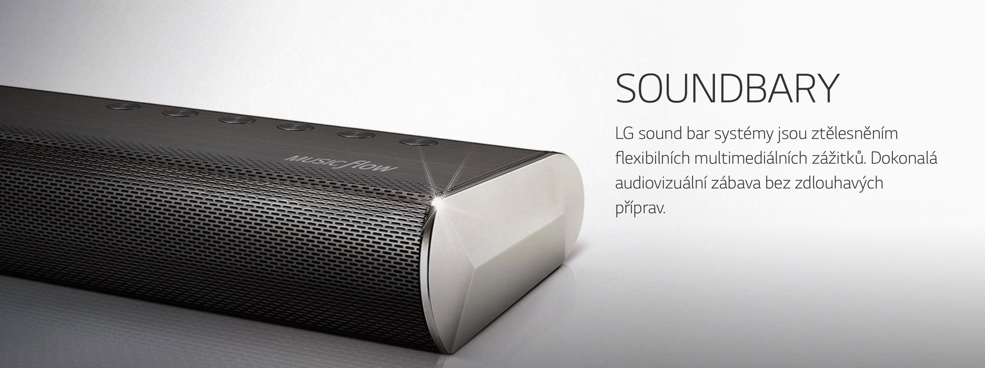 Soundbar do každé rodiny