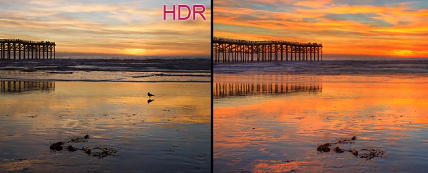 HDR LG TV